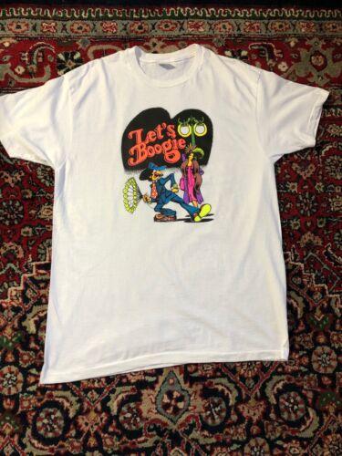 Vintage 60s  Roach studio Let's Boogie T shirt siz
