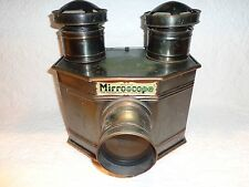 Antique Carbide Acetylene Gas Magic Lantern Mirroscope Projector