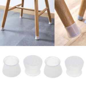 Ordinaire Image Is Loading 4Pcs Silicone Chair Leg Cap Feet Pads Furniture