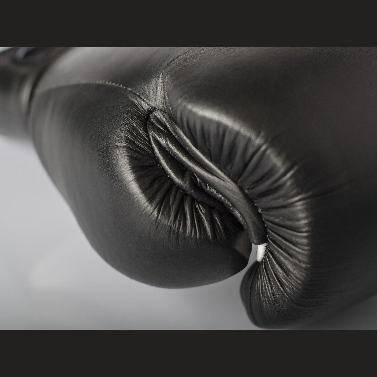 Pro Leder.Muay Klett Profi Sparrings Handschuhe von Paffen Sport Leder.Muay Pro Thai Boxen, K1, c37126