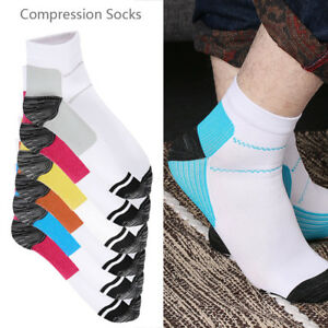 Compression-Sleeve-Support-PLANTAR-FASCIITIS-Foot-Pain-Valgus-Heel-Ankle-Sock-PS