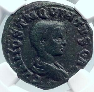 HOSTILIAN-Authentic-Ancient-251AD-Viminacium-RARE-Ancient-Roman-Coin-NGC-i81842