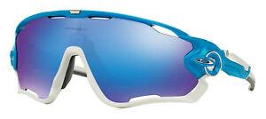 e17557a9ff5 Details about OAKLEY JAWBREAKER Sunglasses OO9290-02 Sky Blue Sapphire  Iridium Aerodynamic