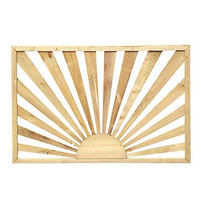 Sunburst Decking Panel