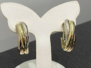 Boucles-d-039-oreilles-Cartier-034-Trinity-034-trois-ors-grand-modele