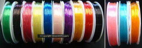 49/' elastic bead stringing thread beading cord .7mm 15M make stretchy bracelets