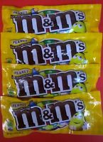 M&m's Peanut 4ct Candy Set Free Thermal Shipping