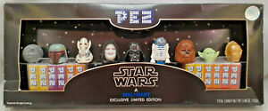 Star-Wars-Pez-Collector-039-s-Set-Walmart-Exclusive-Limited-Edition-2005-BRAND-NEW