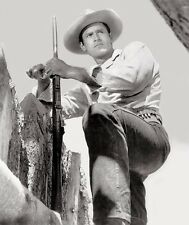Clint Walker - Fort Dobbs 1958 - 8 1/2 X 11