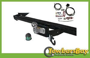 Fixed-Flange-Towbar-13p-C2-Wiring-fits-Mercedes-SPRINTER-Van-2006-14-23043-SF-B1