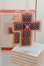 Hallmark QHX1187 la Fe Y El Amor Cross Keepsake Ornament