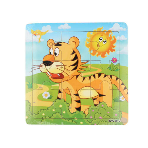 Multicolor Wooden Various Jigsaw Toy For Kids Education And Learning Puzzles Toy