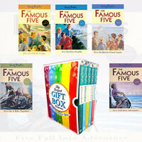 Famous Five Vol(6-10) Collection 5 Books By Enid Blyton Gift Wrapped Slipcase
