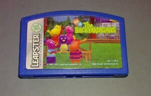 THE BACKYARDIGANS - LEAPSTER TV + LEAPSTER 1+2 LEAP FROG SPIEL GAME TOP
