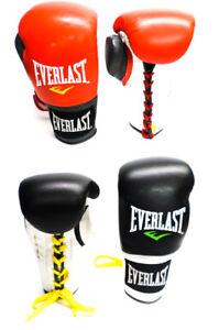 Everlast Boxhandschuhe Powerlock Pro Laced mit Schnürung Gloves Training (F000)