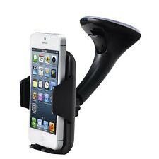 360° Car Holder Windscreen Mount iPhone 6S/6/6S Plus/6 Plus/5/5S/5C/4S/4/ SE (FM