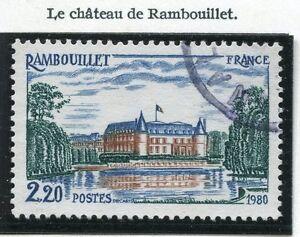 TIMBRE-FRANCE-OBLITERE-N-2111-CHATEAU-DE-RAMBOUILLET-Photo-non-contractuelle