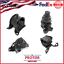 DX Motor /& Trans Mount Kit 4PCS for Manual Trans 94-97 Honda Accord 2.2L LX