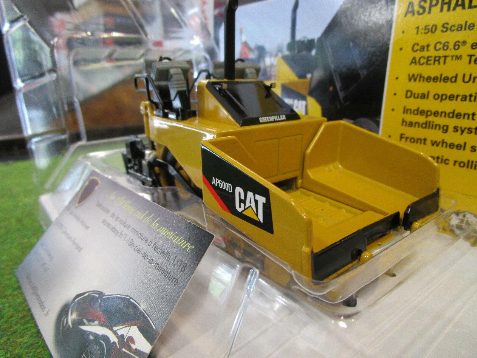 CATERPILLAR CAT AP600D ASPHALT PAVER ASPHALTEUSE 1 50 NORSCOT  55259 TP  pas de minimum