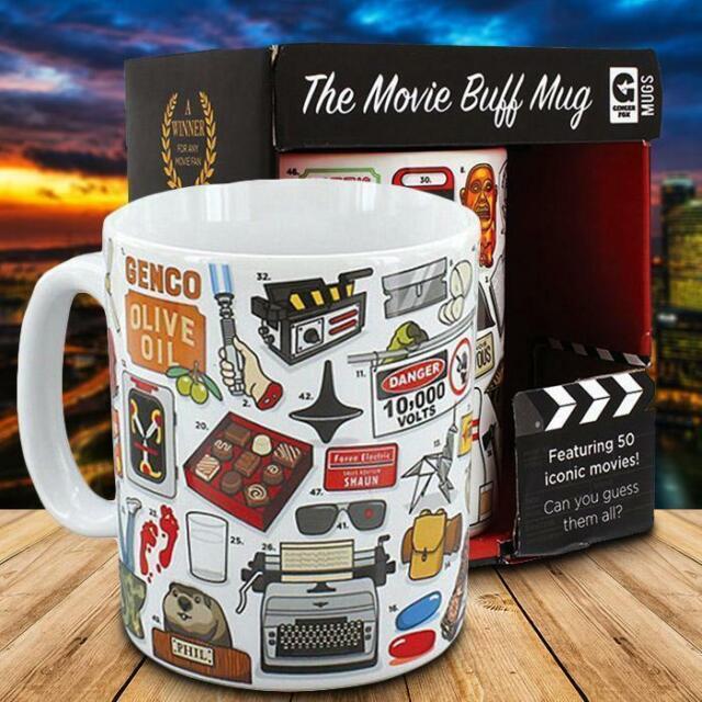 The Ultimate Movie Buff Quiz Mug