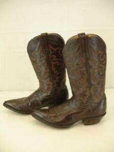 Damenschuhe 5.5 B B B M Panhandle Slim Braun Leder Pointed Cowboy Western 9840c6