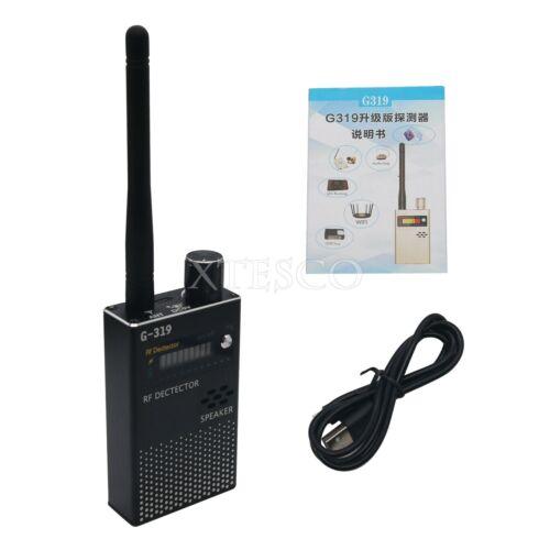G319 1MHz-8000MHz RF Signal Detector Anti-Spy Detector GSM Bug Camera GPS Finder