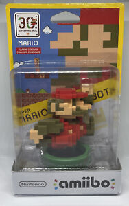 Nintendo Amiibo Mario Pixel Classic Colours 30th Anniversary Edition