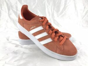 ADIDAS-Men-039-s-Orange-CAMPUS-Casual-Walking-Lace-Up-Shoes-Size-8