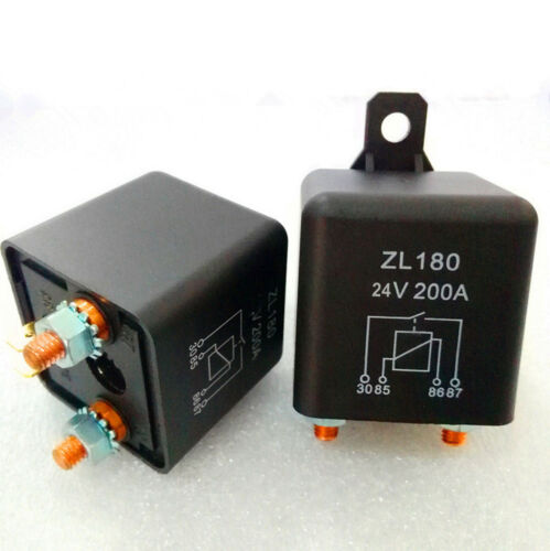 1pc New DC 24V 200A Heavy Duty Split Charge ON//OFF Relay Car Truck Boat