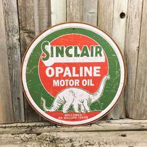 Image is loading Sinclair-Opaline-Motor-Oil-Dino-Gasoline-12-034-