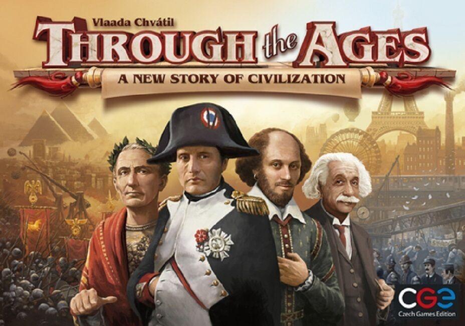 CGE giocos  Through  the Ages - A nuovo storia of Civilization gioco (nuovo)  perfezionare