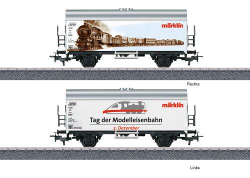 Tag der Modellbahn 2018 #NEU in OVP# Märklin 44240 Kühlwagen Int