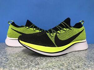 Nike Zoom Fly Flyknit Black Volt White