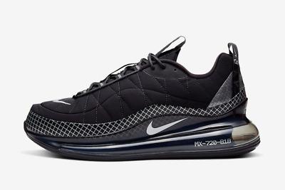 Nike Air Max 720 Mx 720 818 Black Metallic Sliver Ebay