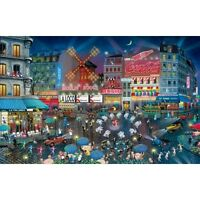 Moulin Rouge France 1000 piece Jigsaw Puzzle Alexander Chen SunsOut Made USA Toys