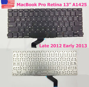 NEW-US-KEYBOARD-For-Apple-MacBook-Pro-Retina-13-A1425-Late-2012-Early-2013
