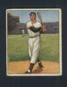 1950-Bowman-28-Bobby-Thomson-VG-VGEX-NY-Giants-129063