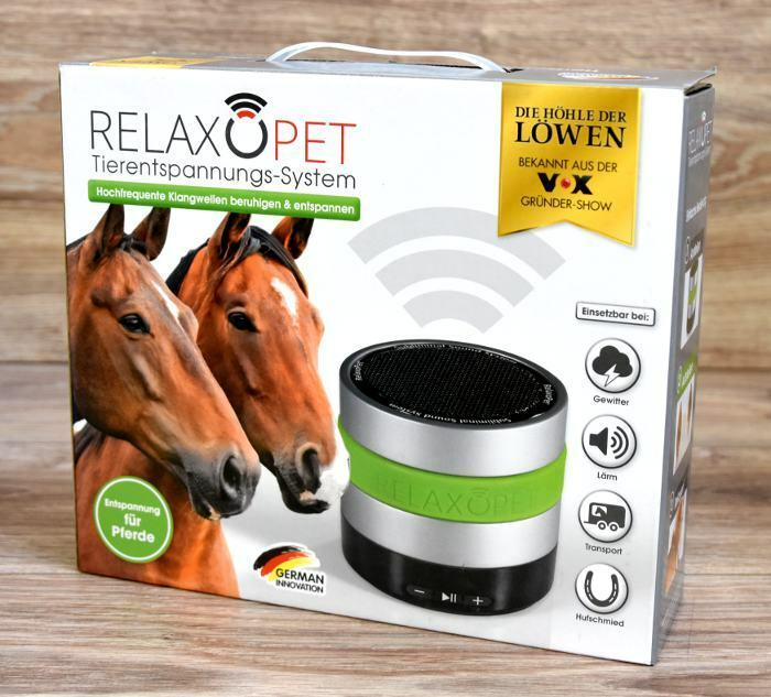 Entspannungsmodul with integrirtem li-battery for horses relaxhorse new