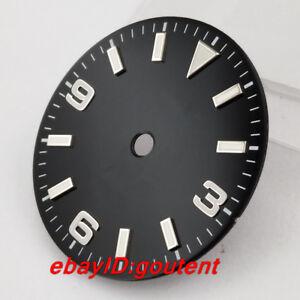 29mm-Sterile-Black-Watch-Dial-Fit-ETA-2824-2836-Mingzhu-2813-3804-Miyota-8205