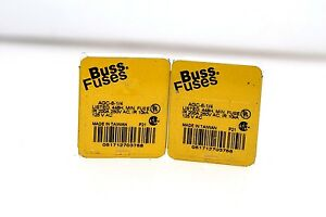 COOPER-BUSSMANN-BUSS-AGC-6-1-4-6-AMP-250-VAC-1-4-FUSE-NEW-IN-LOT-OF-10-G138