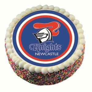 40288-NEWCASTLE-KNIGHTS-NRL-TEAM-EDIBLE-IMAGE-CAKE-TOPPER-BIRTHDAY-PARTY