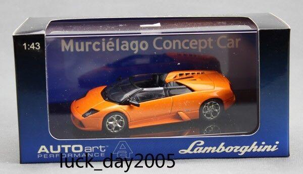 bilkonst LAMBORGHINI MURCIELAGO Concept bil Metallic orange 1  43 tärningskast modellllerlerl