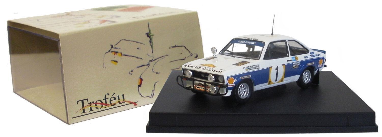en linea Trofeu 1019 Ford Escort Mk Ii Winner Safari 1977-Bjorn 1977-Bjorn 1977-Bjorn waldegard 1 43 Escala  precios bajos