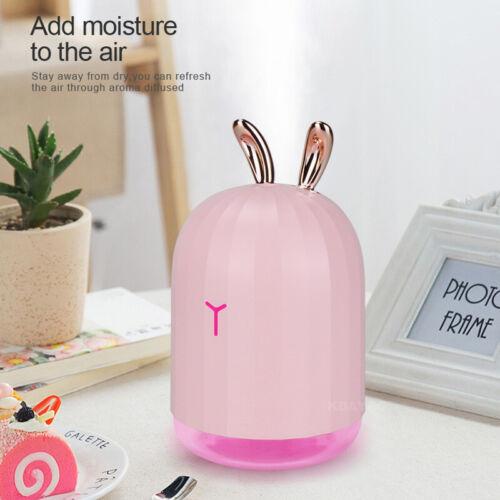 USB Intelligent  Ultrasonic LED Humidifier Diffuser Aroma Aromatherapy Purifier