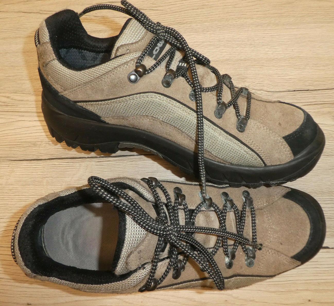 Lowa    Scarponcini donna scarpe da trekking mis. 39 40  MarroneeE NABUK Goretex
