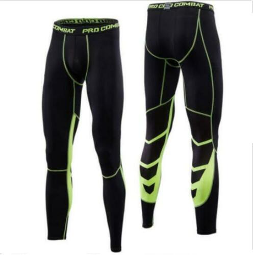 Men/'s Workout 3//4 Pants Apparel Compression Baselayer Shorts Gym Training Tights