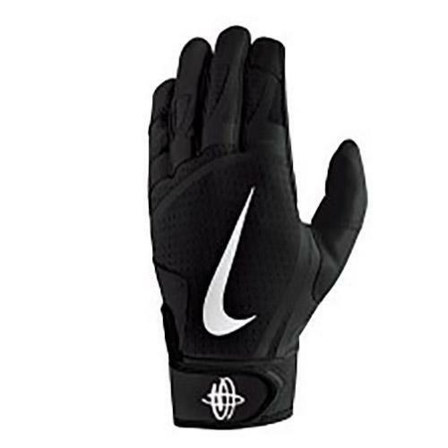 18c9ccc52ddf Nike sz S Adult HUARACHE ELITE BATTING Gloves NEW  60 Black   Silver  NBG05040