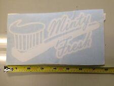 Minty Fresh GOLD sticker decal Car window illest jdm fatlace dope slammed