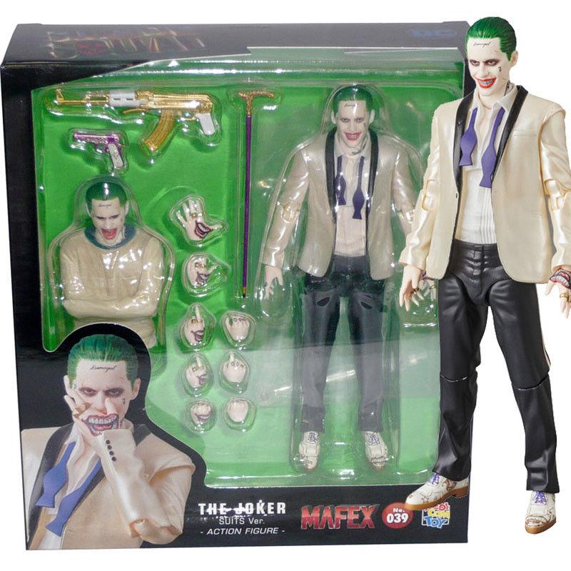 Mafex medicom no.039 dc comics selbstmord schwartz die joker - anzug ber.action - figur