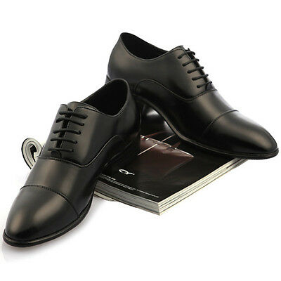 New Classic Style Maling Fashion Mens Dress Formal Oxford Shoes Black